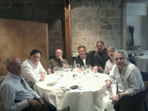 Reunión preparatoria del I ConGReso de la GR1, Rincón de la Merced (Burgos), sábado 2 de abril de 2011