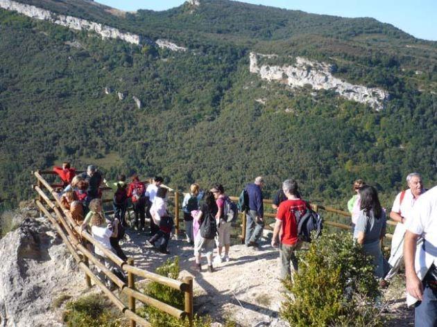 Balcón junto al castillo de Korres