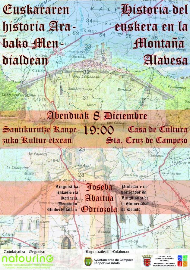 La historia del euskera en la Montaña Alavesa – Campezo